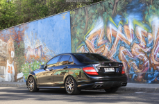 Mercedes Benz C Class на дисках TSW Nurburgring