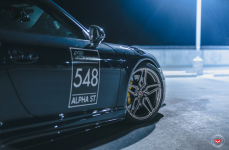 Porsche 991 на дисках VOSSEN FORGED M-X1