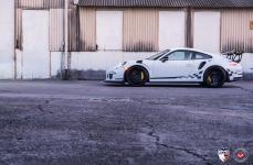 Porsche GT3 RS на дисках Vossen Forged VPS-317