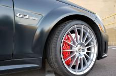 Mercedes-Benz C63 AMG Coupe на дисках HRE FF15