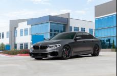 BMW G30 5 Series на дисках Vorsteiner V-FF 103 Carbon Graphite