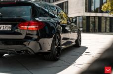 Mercedes-Benz C43 AMG на дисках Vossen CVT