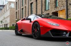 Lamborghini Huracan на дисках VOSSEN FORGED NL4