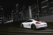 Porsche Cayman на дисках Rohana RC26