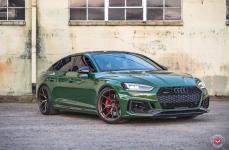 Audi A5 на дисках VOSSEN FORGED S21-01