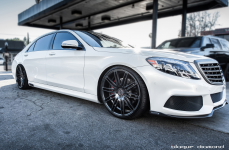 Mercedes S63 Brabus на дисках Blaque Diamond BD-2