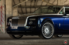 Rolls Royce Phantom на дисках VOSSEN FORGED S17-13