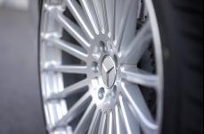 Mercedes Benz S550 на дисках TSW Turbina