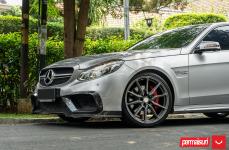 Mercedes-Benz E63 на дисках Hybrid Forged HF-3