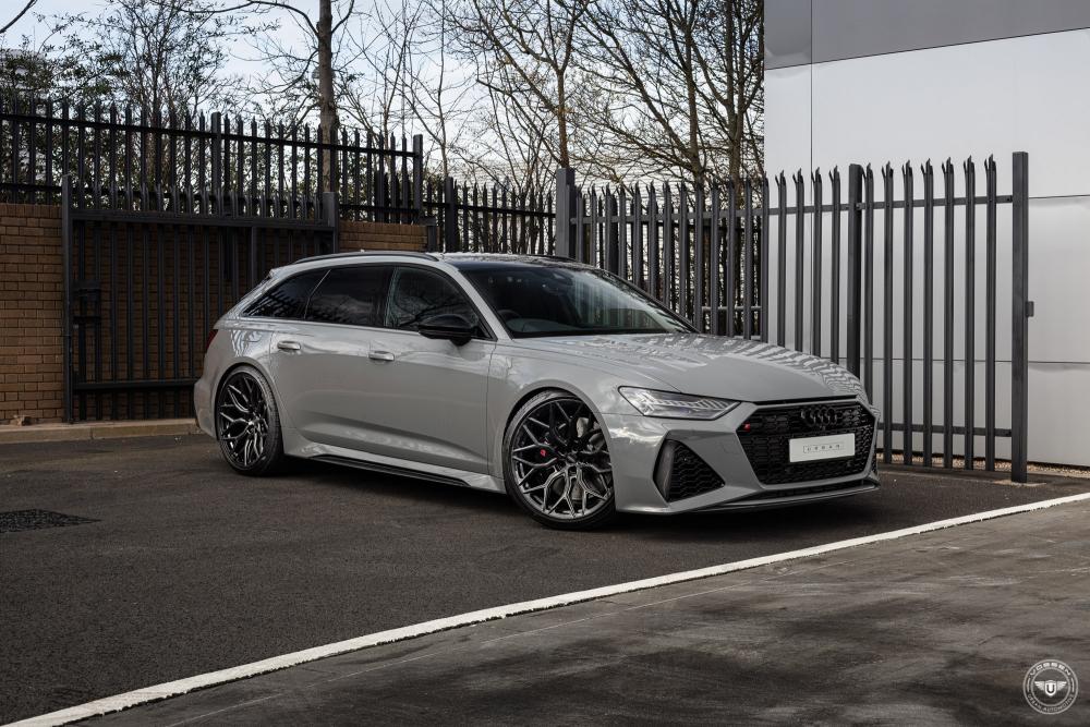 Audi RS6 на дисках Hybrid Forged HF-2