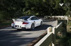 Porsche 997 GT2 на дисках Vorsteiner V-FF 104