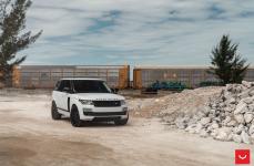 Land Rover Range Rover на дисках VOSSEN HF-2