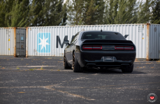 Dodge Hellcat на дисках Vossen Forged VPS-306