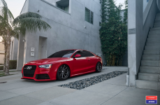 Audi RS5 на дисках Vossen x Work VWS-1