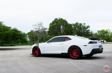 Chevrolet Camaro SS на дисках Vossen Forged VPS-307T