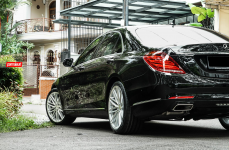 Mercedes S Class на дисках Vossen Hybrid Forged VFS-4