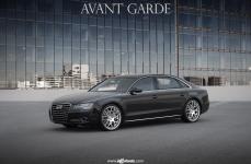 Audi A8L на дисках Avant Garde M310