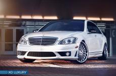 Mercedes-Benz S63 AMG на дисках XO Luxury New Tork