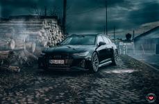 Audi A6 на дисках VOSSEN FORGED S17-01