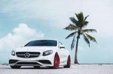 Mercedes S63 AMG Coupe на дисках ADV15 M.V2 CS