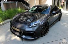Porsche Panamera на дисках ADV5.2 Deep Concave SL Series