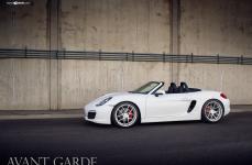 Porsche 981 Boxster S на дисках Avant Garde M510
