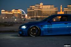Liberty Walk BMW M3 на дисках Rotiform KPS