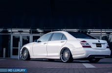 Mercedes-Benz S63 AMG на дисках XO Luxury New Tork