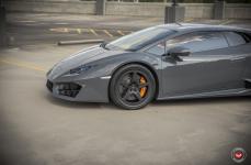 Lamborghini Huracan на дисках Vossen Forged LC-101