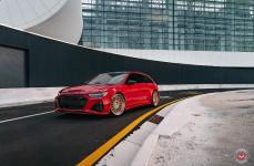 Audi A6 на дисках VOSSEN FORGED ERA-1