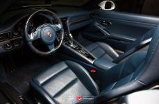 Porsche 991 911 Cabriolet на дисках Vossen Forged VPS-308