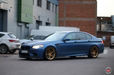 BMW 5 (F10, F11) на дисках VOSSEN FORGED HC-2