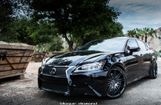 Lexus GS350 на дисках Blaque Diamond BD-2