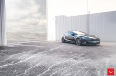 Tesla Model S на дисках Hybrid Forged VFS-1