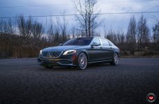 Mercedes S600 Maybach на дисках Vossen Forged S17-13