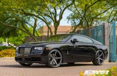 Rolls Royce Wraith на кованых дисках Vossen Forged CG-201