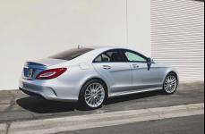 Mercedes-Benz CLS63 AMG на дисках Mandrus Stirling