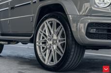 Mercedes G63 AMG на дисках Hybrid Forged HF-7