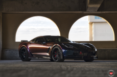 Chevrolet Z06 Corvette на дискахc Vossen Forged EVO-4