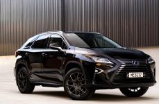 Lexus RX на дисках BLACK RHINO KUNENE