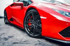 Lamborghini Huracan на Дисках VORSTEINER V-FF 112