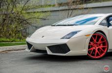 Lamborghini Gallardo на кованых дисках Vossen Forged VPS-306