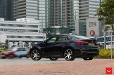 BMW X6M на дисках Vossen CV7