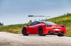 Ferrari 458 на дисках ADV5.1 M.V1 SL