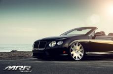 Bentley Continental GT Convertible на дисках MRR HR3 Wheels