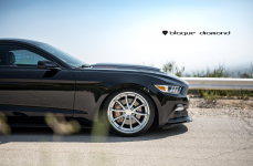 Ford Mustang GT Chip Foose Edition на дисках Blaque Diamond BD23