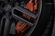 Mercedes Benz S63 AMG на дисках Vossen Hybrid Forged HF-1