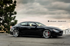 Maserati Ghibli на дисках Blaque Diamond BD8