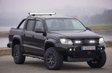 Volkswagen Amarok на дисках Black Rhino Warlord