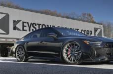 Audi RS7 на дисках Hybrid Forged HF-4T